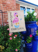Flockin' Fabulous Flamingo Sketch Filled Embroidery Design - Sew What Embroidery Designs