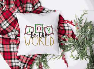 Joy To The World Embroidery Design - Sew What Embroidery Designs