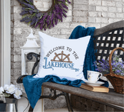 Welcome to The Lake House Embroidery Design