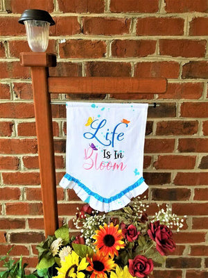 Life in Full Bloom Embroidery Design - Sew What Embroidery Designs