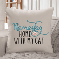 Namastay Home With My Dog/Cat Embroidery Design - Sew What Embroidery Designs