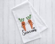 Scarrots (carrots) Halloween Embroidery Design