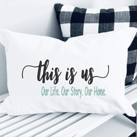 This is Us Our Life, Our Story, Our Home Embroidery Design - Sew What Embroidery Designs
