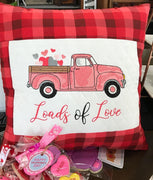 Vintage Valentine Truck Sketch Embroidery Design - Sew What Embroidery Designs