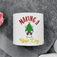 Making a Yule Log Embroidery Design - Sew What Embroidery Designs