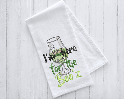 I'm Here for The BOO'Z Halloween Embroidery Design - Sew What Embroidery Designs