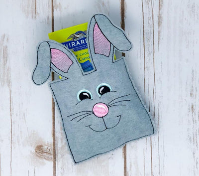 In The Hoop Easter Bunny Bag Embroidery Design