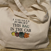 I Usually Forget This Bag in The Car Embroidery Design - Sew What Embroidery Designs