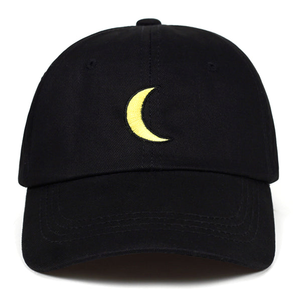 Moon Embroidered Baseball Hat - JZ Hats