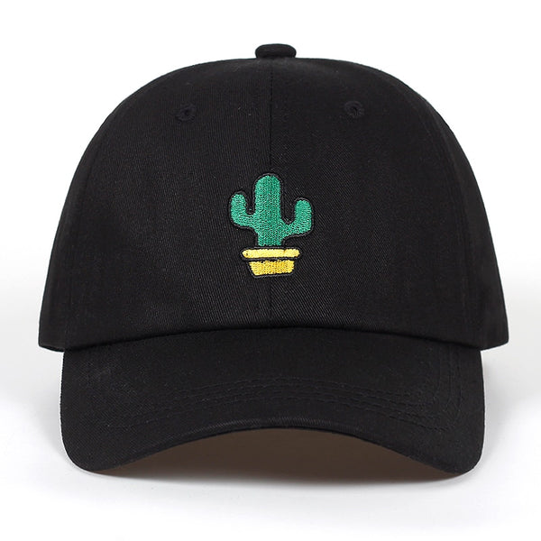 Cactus Embroidered Baseball Hat - JZ Hats