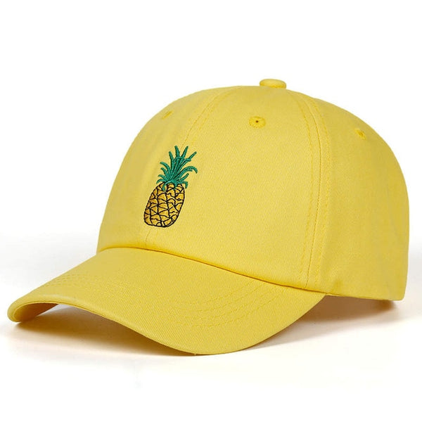 Pineapple Embroidered Baseball Hat - JZ Hats