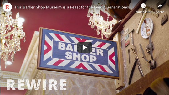 This Barber Shop Museum is a Feast for the Eyes - PBS Documetary