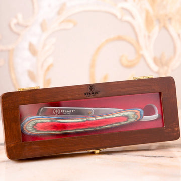 Funky Handle Straight Razor by REAMIR