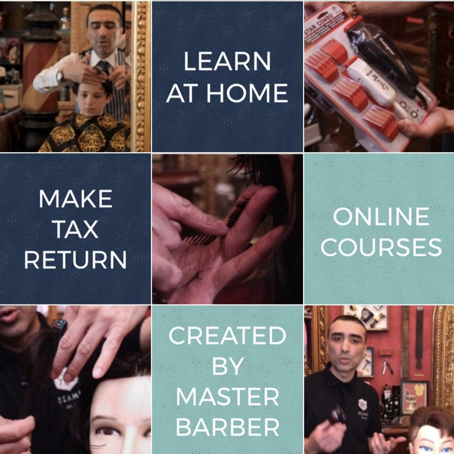 Men's Haircuts at Home: Online Course