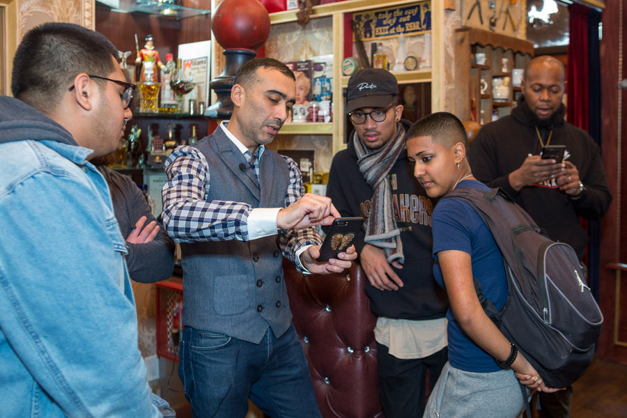 Master Barber Arthur Rubinoff Workshop January 26th 2020 at the NYC Barbershop Museum