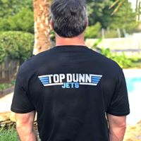 Top Dunn Jets T Shirt (Black)