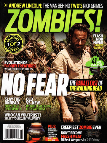 Zombies Magazine Spring 2014 - Collector Cover 1