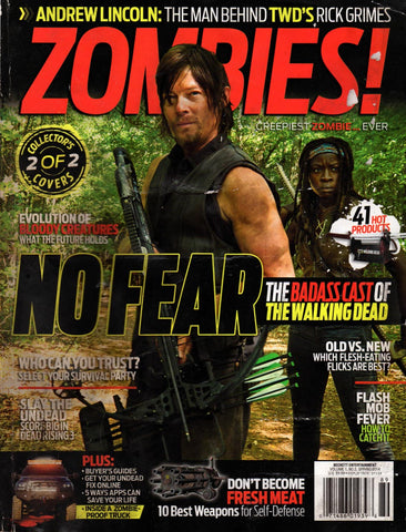 Zombies Magazine Spring 2014 collector's cover 2