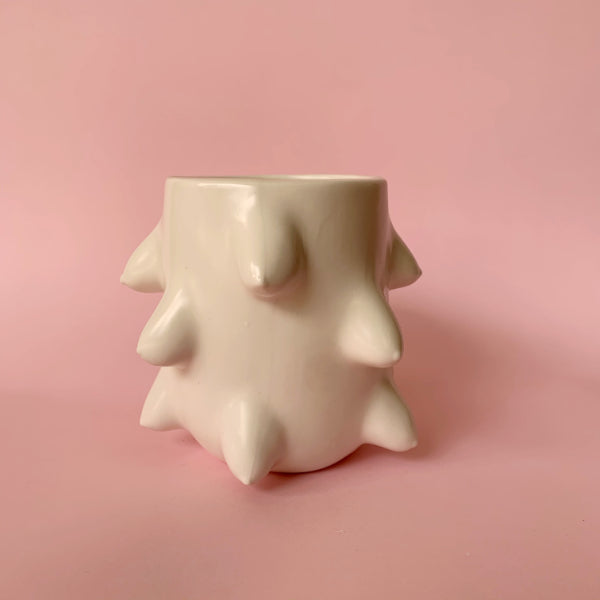 Ceramic Boob Monster Vessel
