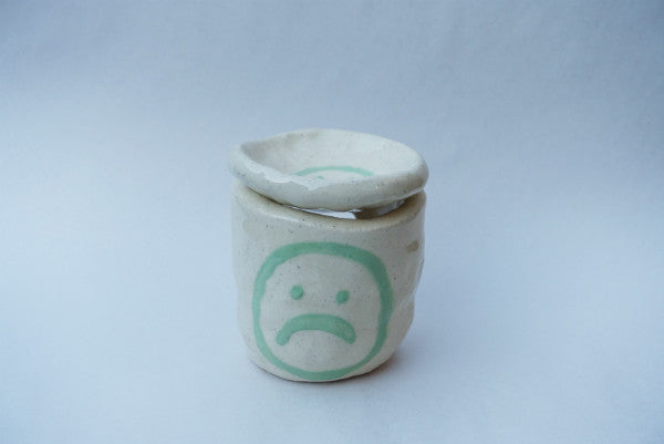 Minty Sad Face Melt Burner