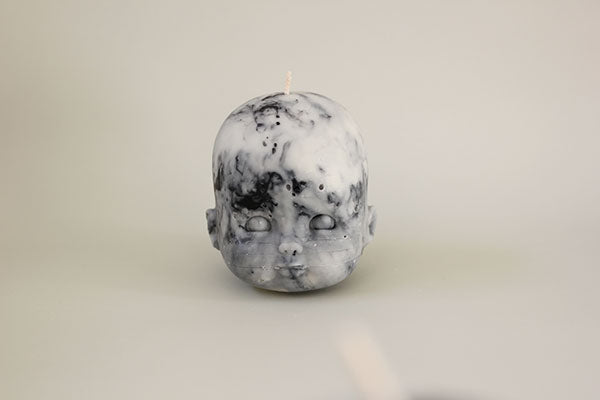 Doll Head - Raw Marble