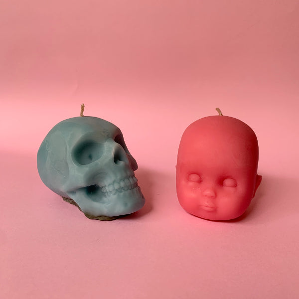 Seconds/Old Stock: Body Part candles