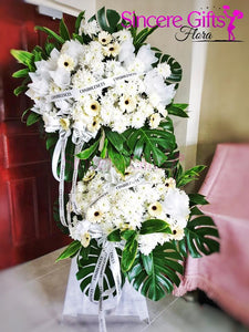 2 Tier Condolence Flower Stand