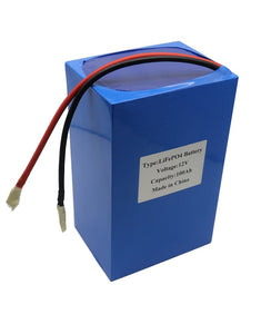 LiFePO4 12V 100AH LITHIUM BATTERY PACK WITH BMS