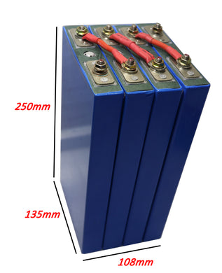 12V100ah lithium battery dimension
