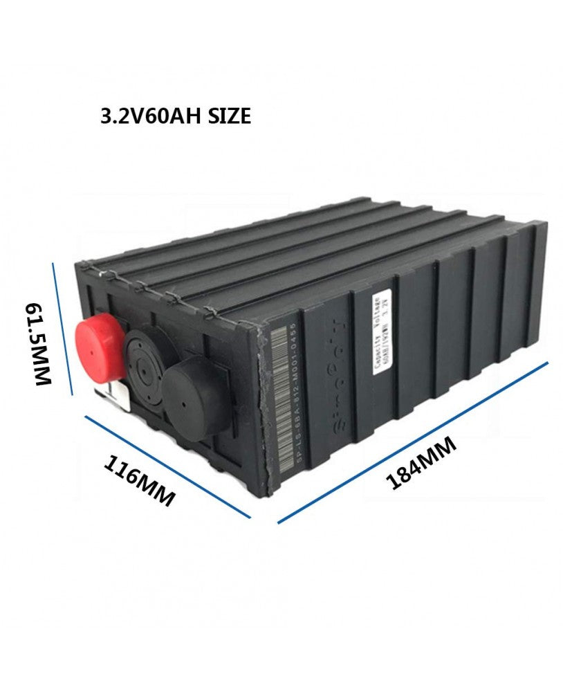 3.2V 60AH LiFePO4 Battery