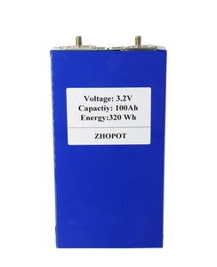 3.2V100AH LiFePO4 Battery Cell