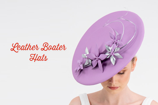 Leather Boater Hats Deluxe Course