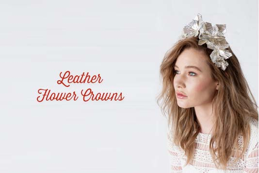 Leather Flower Crowns Deluxe Course