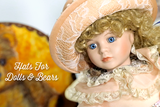 Hats For Dolls & Bears Course