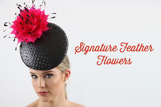 Signature Feather Flowers Deluxe Course – How To Make Hats Millinery  Classes  64130fc49492