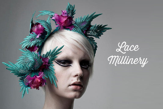 LACE MILLINERY DELUXE COURSE – How To Make Hats Millinery Classes ... cc0ed9acb14
