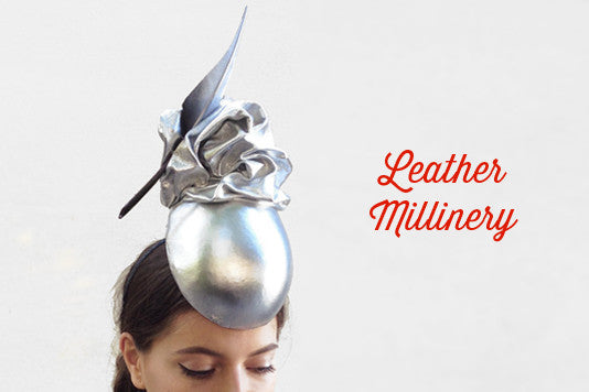 9108b846beb Leather Millinery Deluxe Course – How To Make Hats Millinery Classes ...