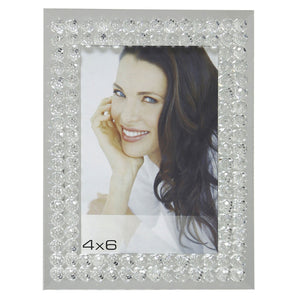 Mirror Glass Bubble Photo Frame (4 x 6 Inch) - Angraves Memorials