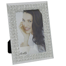 Load image into Gallery viewer, Mirror Glass Bubble Photo Frame (4 x 6 Inch) - Angraves Memorials
