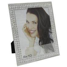 Load image into Gallery viewer, Mirror Glass Bubble Photo Frame (8 x 10 Inch) - Angraves Memorials