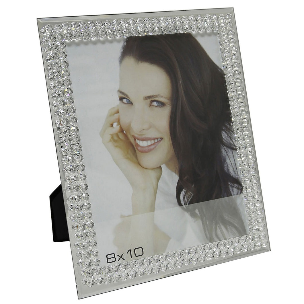 Mirror Glass Bubble Photo Frame (8 x 10 Inch) - Angraves Memorials