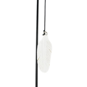 Mum & Dad Sadly Missed Guardian Angel Wings Wind Chime