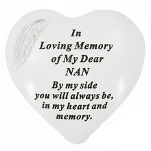 Load image into Gallery viewer, Special Nan Graveside Memorial Feather Grave Plaque