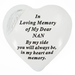 Special Nan Graveside Memorial Feather Grave Plaque