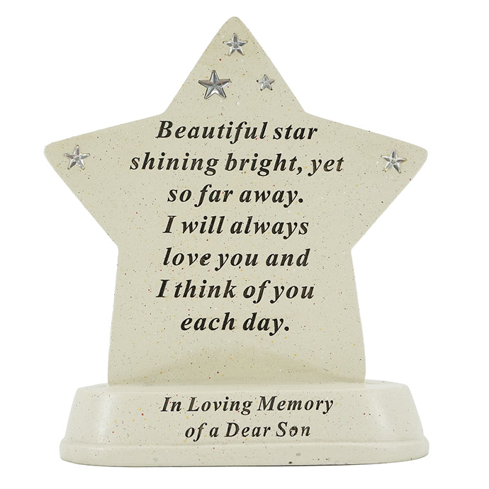 Special Son Shining Star Plaque