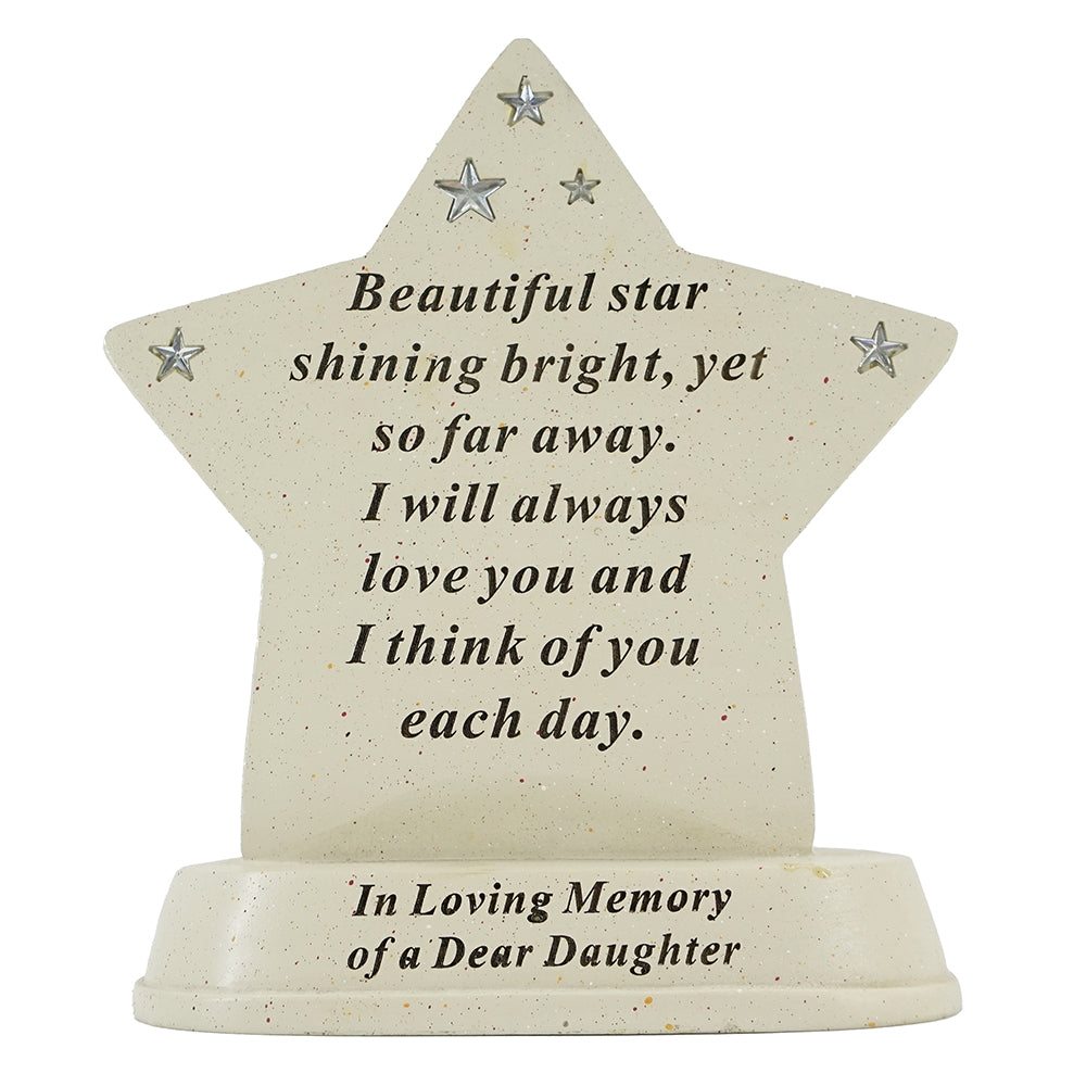 Special Daughter Shining Star Plaque