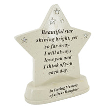 Load image into Gallery viewer, Special Daughter Shining Star Plaque