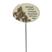 Load image into Gallery viewer, Special Uncle Love & Missed Bird Memorial Remembrance Stick