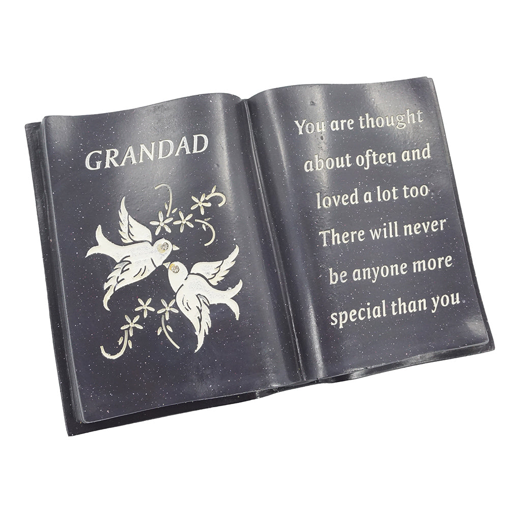 Special Grandad Love & Peace Dove Book
