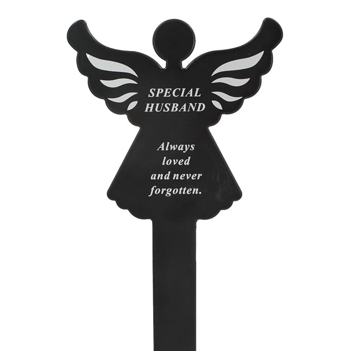 Special Husband Memorial Remembrance Grave Angel Ground Stake